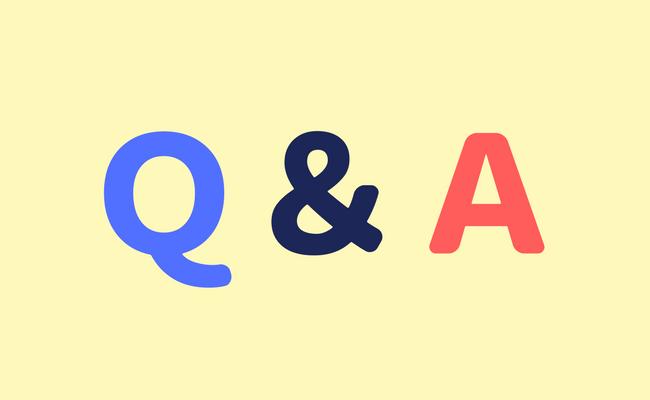 q&a 質問と回答